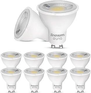 Bombilla LED, GU10, diferentes variaciones, 10er-Set - Warmweiß 3W, GU10, 3.00W, 230.00V