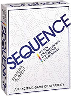 Sequence Card Game , Challenge Strategy Board Games Funny Entertainment Board Game Friend Family Party Fun Playing Desktop...