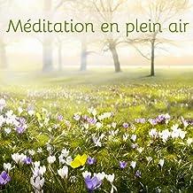 Méditation en plein air – Yoga, méditation et salutation au soleil avec la nature, bruit de tonnerre, pluie, chant d'oiseaux et vagues et vent