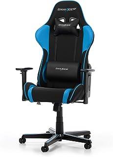 DXRacer Formula F11 Gaming Chair, Black/Blue, Tela, Negro/Azul, 85.5 x 69.5 x 35 cm
