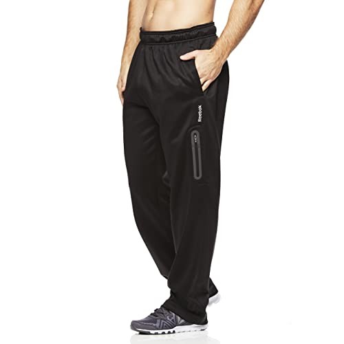 d9ccbfc23ece Reebok Men s Tremont Track Pants - Performance Activewear Running Bottoms