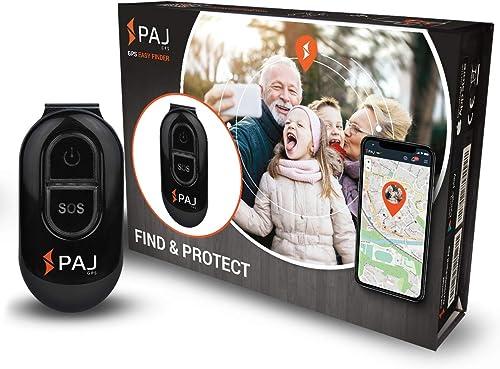 Easy Finder di PAJ GPS - Localizzatore GPS per bambini, anziani, persone con demenza - 5 giorni di durata della batte...