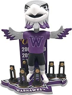 Forever Collectibles Willie Warhawk Whitewater Warhawks Football National Champions Bobblehead