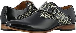 Black/Leopard