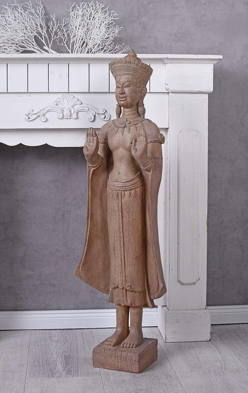 Unbekannt Buddha Figur XXL Feng Shui Skulptur Asien Gottheit Meditation Gartenfigur Palazzo Exklusiv