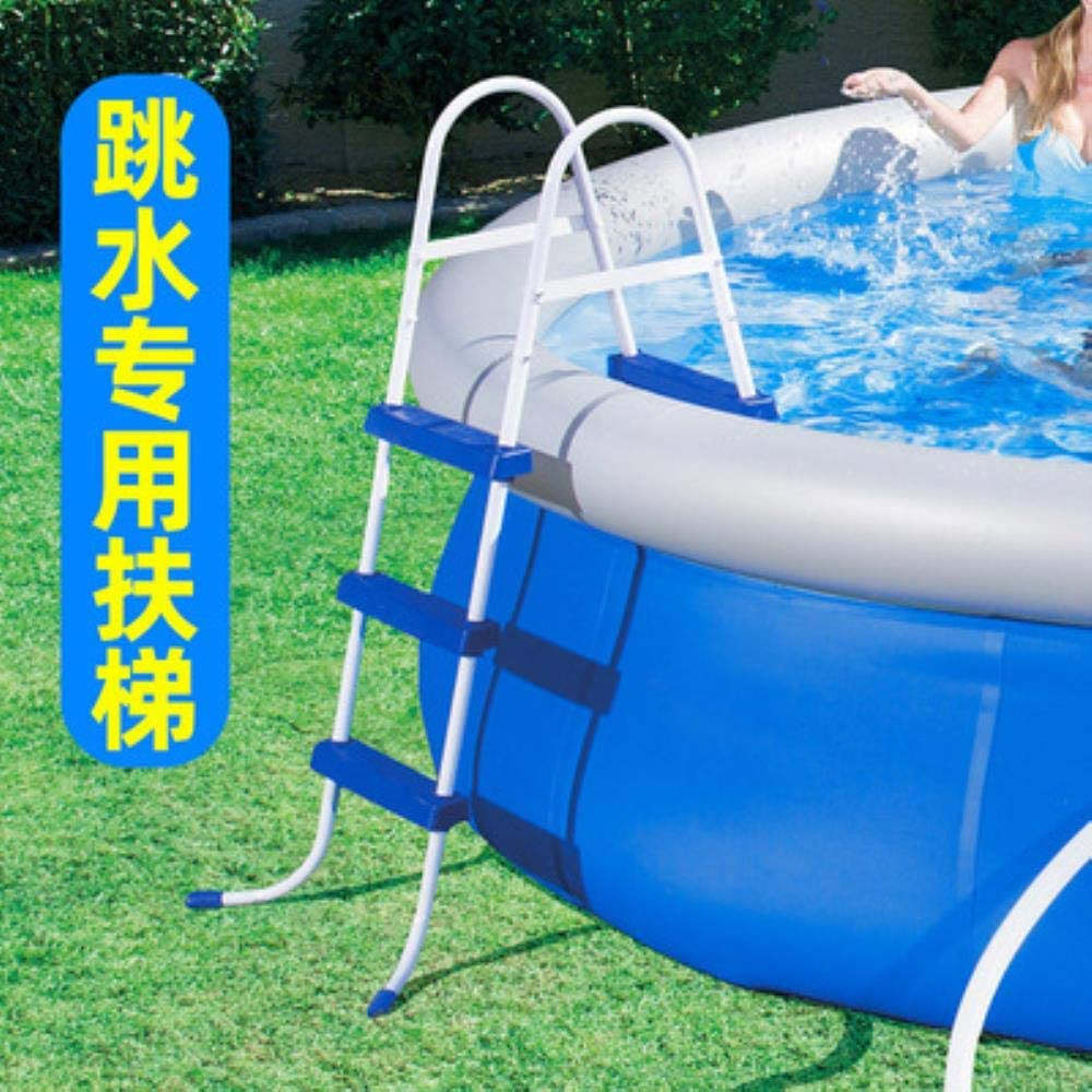 Amazon Com Princess Inflatable Pool Children S And Adult Home Use Paddling Pool Large Size Inflatable Round Swimming Pool For Adult Escalator Garden Outdoor