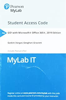 MyLab IT with Pearson eText -- Access Card -- for GO! with Microsoft Office 365, 2019 Edition