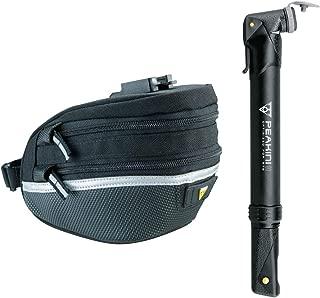 Topeak Survival Tool Wedge Pack II Bike Saddle Bag with 17-Pc. Tool Kit and Peakini II Mini Pump