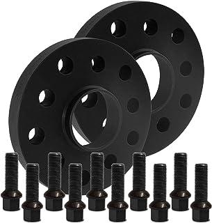 BlackLine Spurverbreiterung 20mm (10mm) mit Schrauben schwarz 5x100 57,1mm   12118W_6_M1415KU38Q