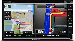 (TD799GSY) XTRONS 6.95インチ 高画質 2DIN カーナビ カーオーディオ DVDプレーヤー 最新入荷ゼンリン地図 ブルートゥース USB SD対応 るるぶデータ搭載