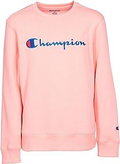 Champion 中性款 Heritage 儿童抓绒 Script 套头运动衫