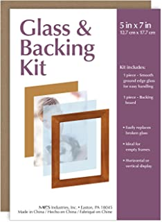 MCS Glass & Backing Kit For 5x7 Picture Frame
