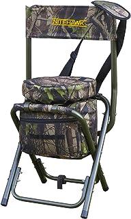 NITEHAWK Camouflage Lightweight Hunting Shooters Hide Swivel Seat/Stool