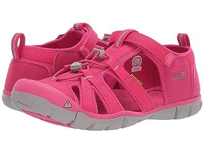 Keen Kids Seacamp II CNX (Little Kid/Big Kid) (Hot Pink) Girls Shoes