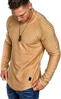 ens Casual Long Sleeve Hoodies Solid Colors Sweatshirt M-3XL