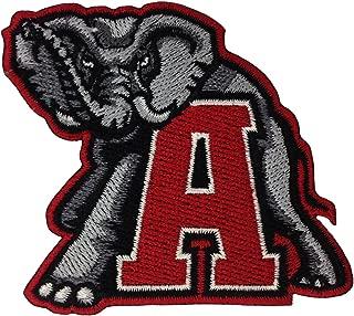Alabama Crimson Tide Logo Embroidered Iron Patches