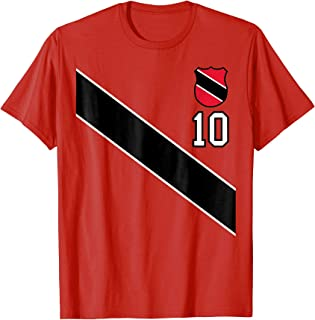 Retro Trinidad and Tobago Soccer T-Shirt Football Jersey 10