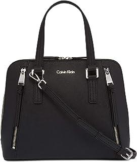 Calvin Klein Women's Saffiano Leather Satchel