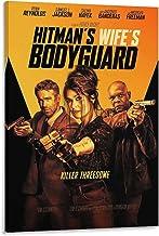OUPPENG Filmposter De Hitman's Vrouw Bodyguard Poster Decoratie Schilderij Woonkamer Muurschildering Canvas Print Muur Art...