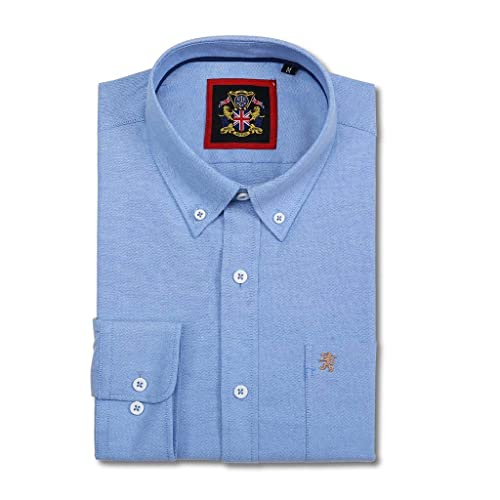 8c516ffd Long Sleeve Shirt Janeo British Apparel, Mens English Oxford Button Down  Collar, with Pocket