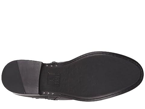 Frye Anna Gore Tall Black Buffalo Leather
