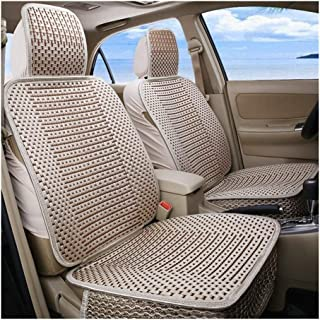 DKX Luxury Car Seat Cushion Hand-woven Ice Silk Car Seat Cover Summer Front Seat Universal Car Seat Cushion 1piece (Size :...