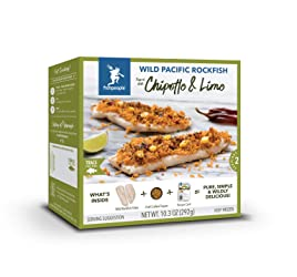 Fishpeople Wild Pacific Rockfish Kit - Chipotle & Lime (2 fillets + Crunchy Topper + Recipe Card + F