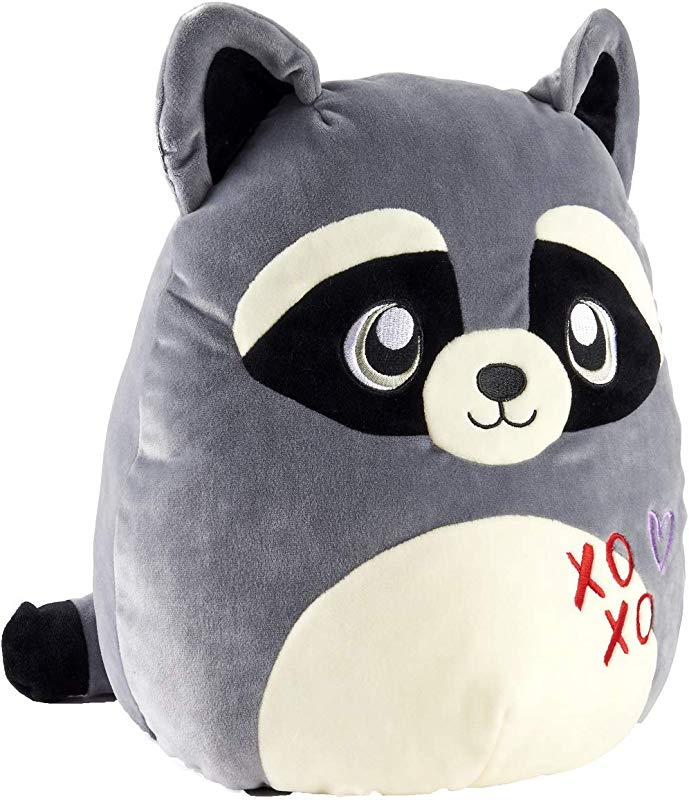 Squishmallow Kellytoy 12 Inch Racoon Super Soft Plush Toy Pillow Pet Randy