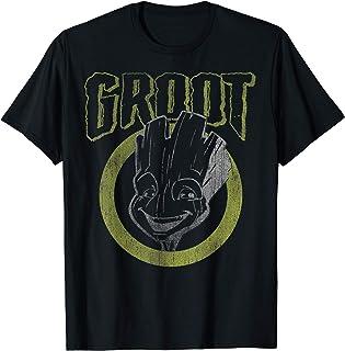 Marvel Guardians Of The Galaxy Groot Dark Portrait T-Shirt