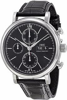 IWC - IW391008 - Reloj para Hombres, Correa de Cuero
