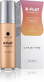 B-Flat Cellulite Stretch Marks Firming Cream | Belly Skin Treatment | Anti-Cellulite Stomach Lotion with Arabica Coffee & Hyaluronic Acid