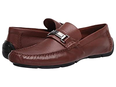 Calvin Klein Karns (Russet Soft Tumbled Leather) Men