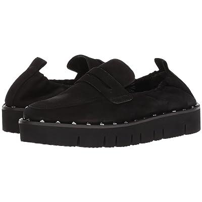 Kennel & Schmenger Malu XXL Studded Loafer (Black Nubuck) Women