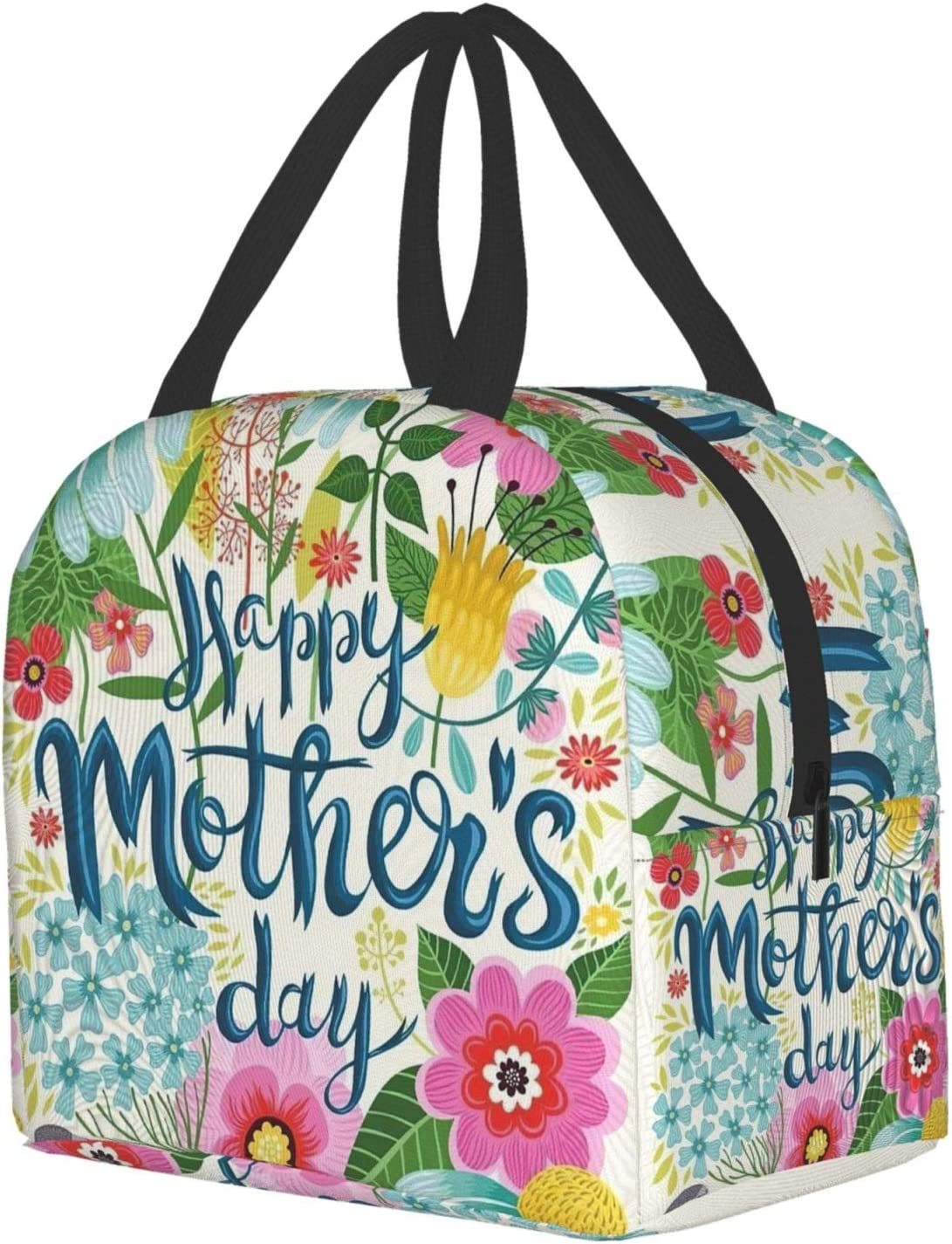 Mom Gift Lunch Box Insulated Tote Waterproof Bag Reusable Thick With Zipper For Women Kids Men Best Gift