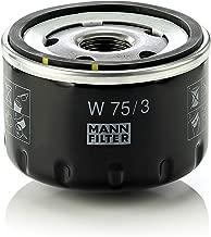 Mann Filter W 75/3 Filtro de Aceite, para automóviles y veh