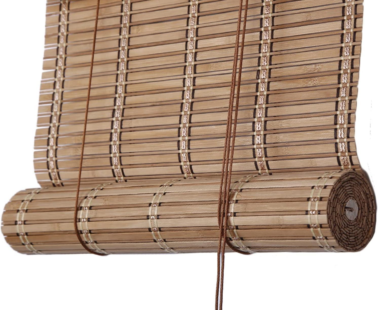 gift Superior Roller Blinds Outdoor Bamboo Shades Wide Shutter Window