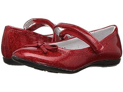 Kid Express Rosie (Toddler/Little Kid/Big Kid) (Red Glitter Patent) Girls Shoes