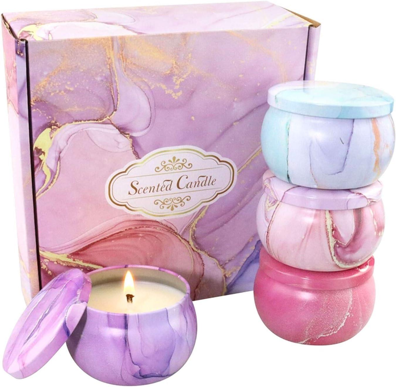 Excellence CGRTART Candles for Home Candle Set Regular dealer 4pcs Na Gift Scented