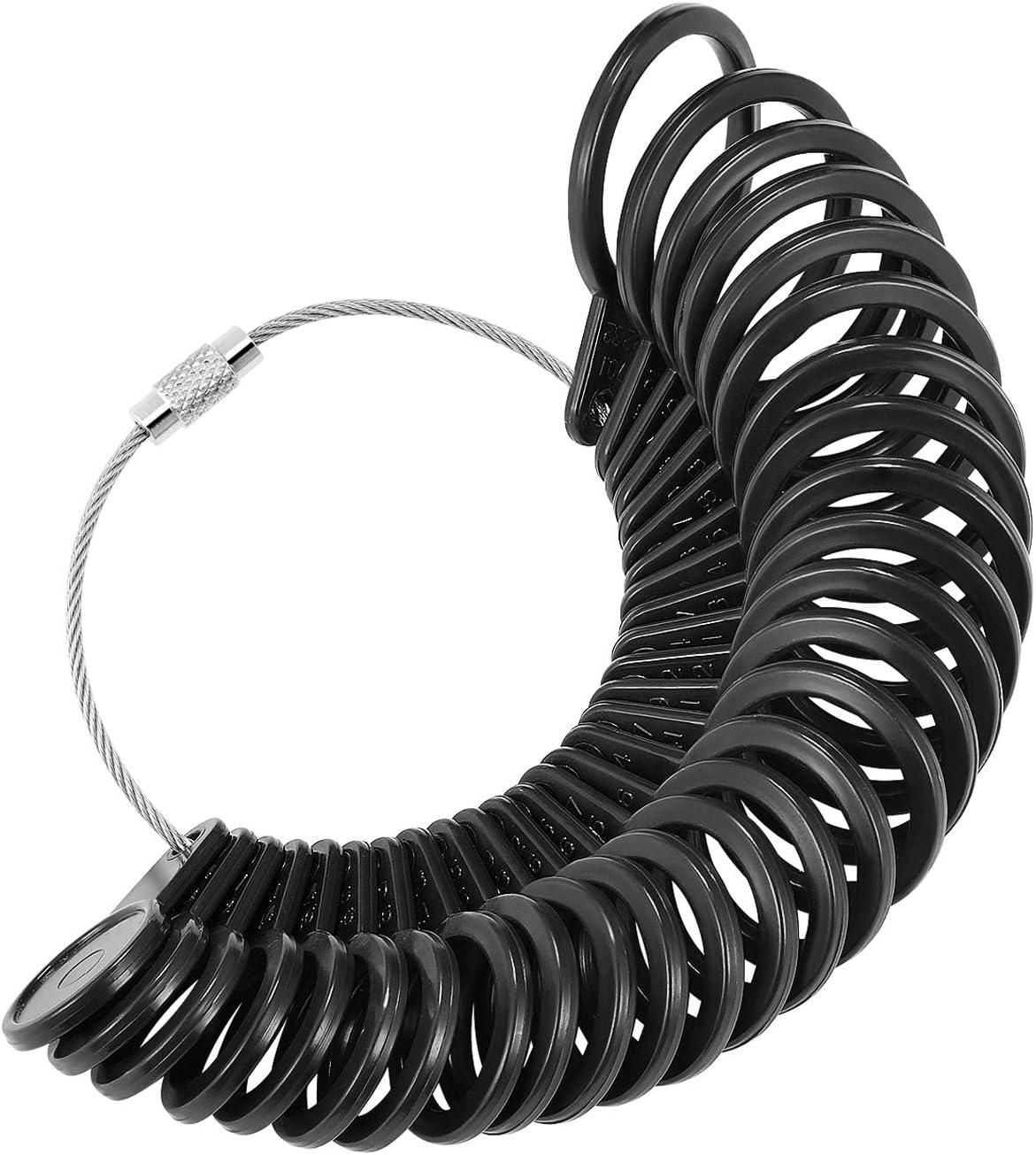 Flexzion Ring Sizer US UK free shipping Gauge Sizing Finger Measuring Set Memphis Mall Jew