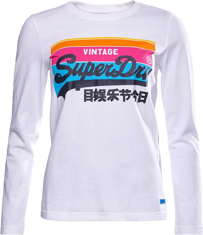 Superdry Vintage Logo Cali 18%OFF Sleeve 低価格 Top Long