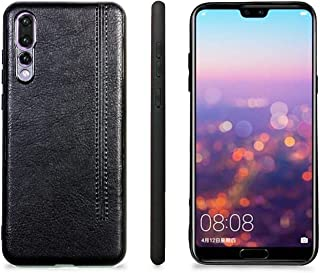 HUAWEI P20 Pro Case,  PU Leather Slim Fit Ultra light Soft Touch Protective Mobile Cell Phone Case Back Cover for HUAWEI P...