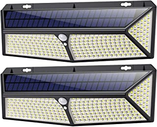 Lampe Solaire Extérieur,[ 2020 le Plus Brillant 288 LED - 2500 lumens] iPosible Lumière Solaire Etanche éclairage Solaire ...