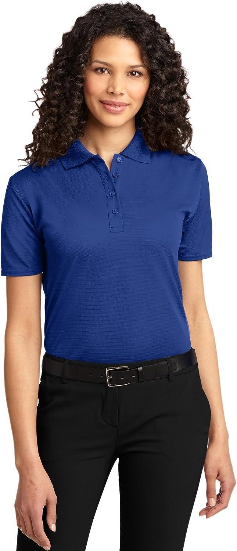 Port Authority Ladies Dry Zone Ottoman Polo Shirt, Royal