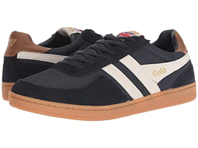 Gola Elite (Navy/Off-White/Tan) Men