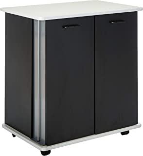 Safco Products Refreshment Hospitality Cart, Black