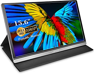 Portable Monitor - Lepow Z1-Gamut (2020) 15.6 Inch FHD 1080P High Color Gamut Computer Display USB C Eye Care Screen with ...