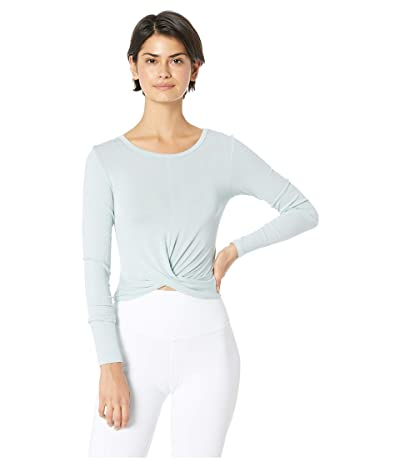 ALO Cover Long Sleeve Top (Cloud) Women