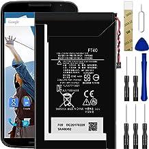 for Verizon Motorola Moto E XT1528 2nd Gen, E 2nd Gen XT1528PP Replacement Battery,for FT40/SNN5956A Battery with Adhesive...