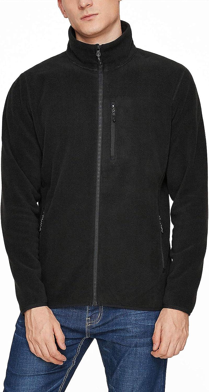 LAPASA Men's Polar Soft Fleece Jacket with 3 Zipper Pockets M72