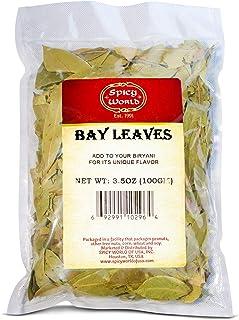 Spicy World Bay Leaf / Leaves Whole 3.5oz (100g) - Indian Bay Leaf